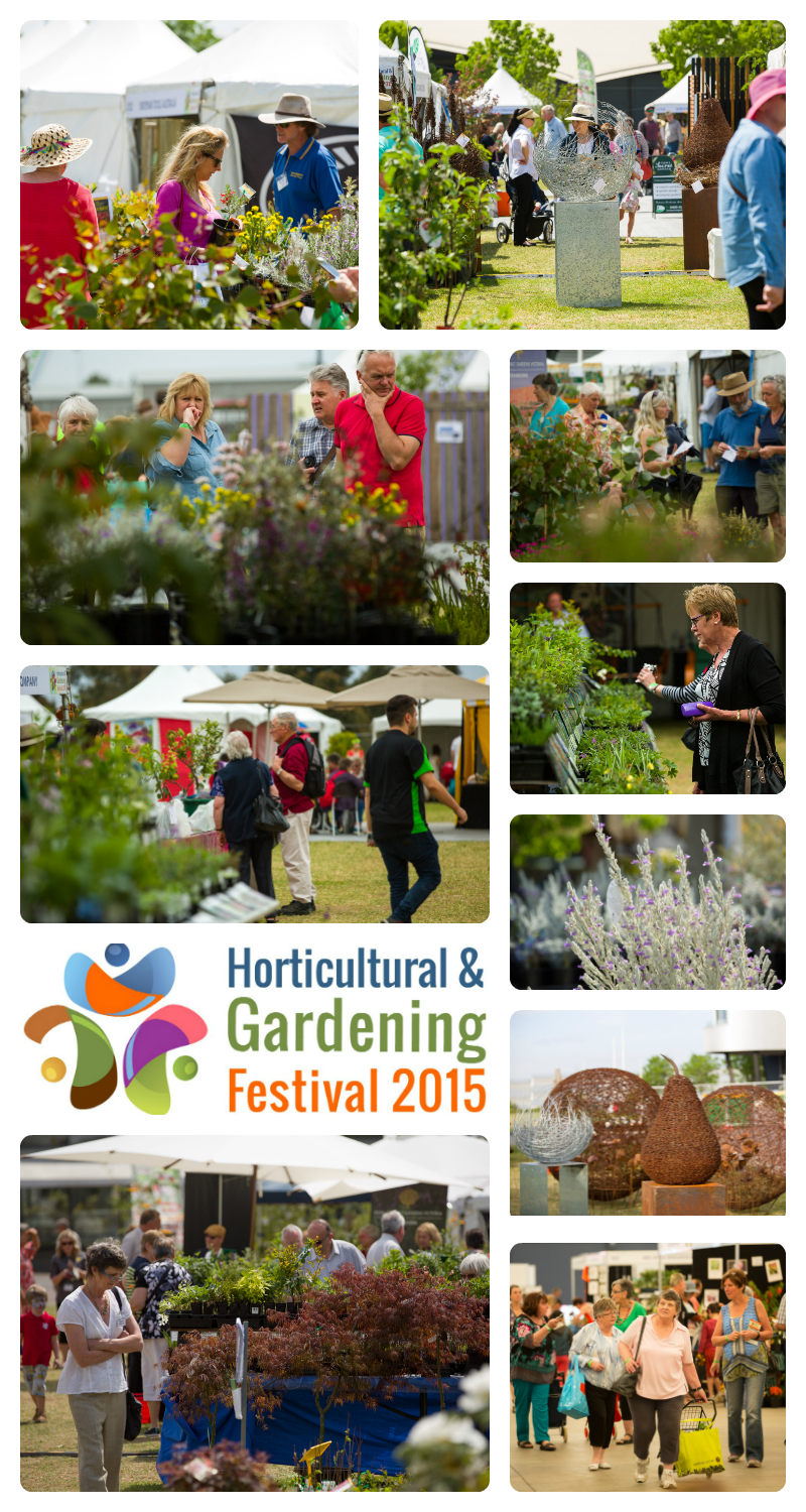 Exhibitors and Visitors HortFestival 2015